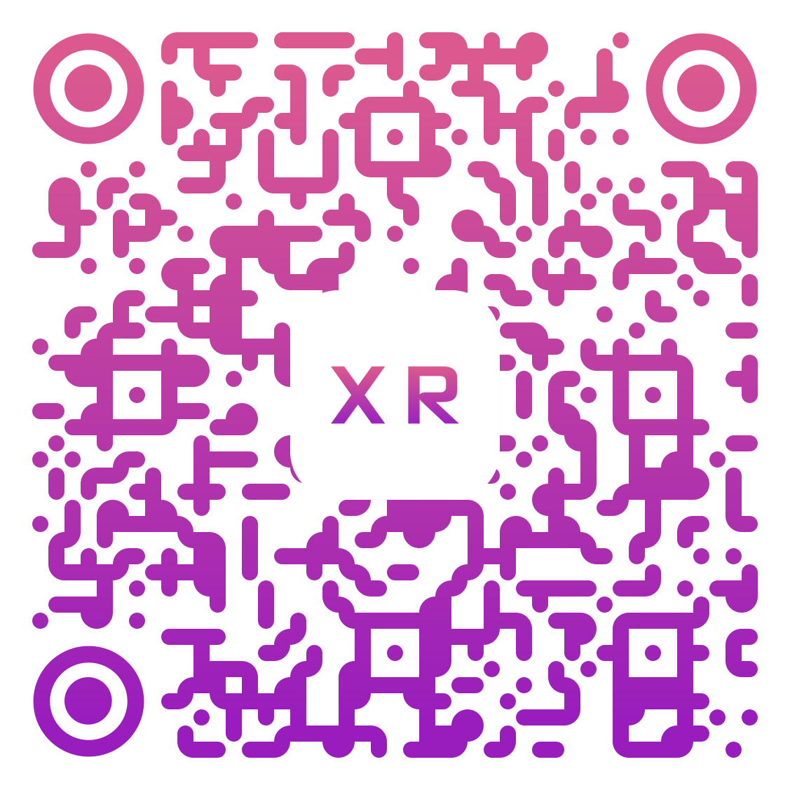 QR Code for experience The XR Gallery